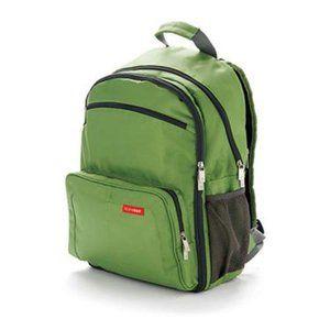 SKIP HOP Green Via Backpack Diaper Bag